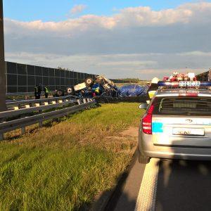 Koszmarny wypadek na A4
